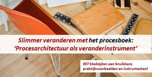 Slimmer veranderen met het procesboek: 'Procesarchitectuur als veranderinstrument'