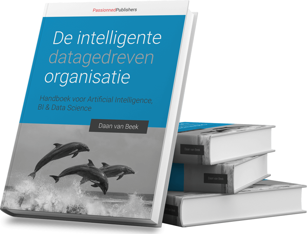 Cover Big Data-boek 'De intelligente, datagedreven organisatie'