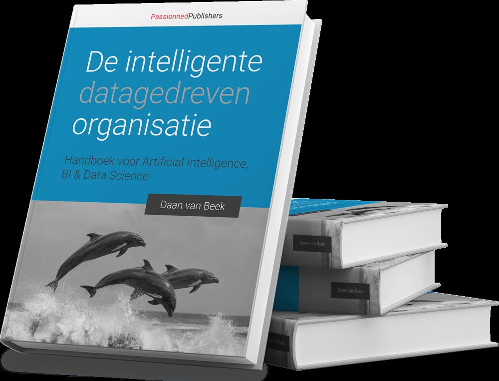 Cover BI-boek 'De intelligente, datagedreven organisatie'