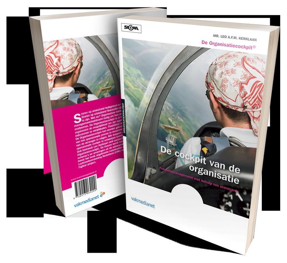 Cover boek 'De cockpit van de organisatie'