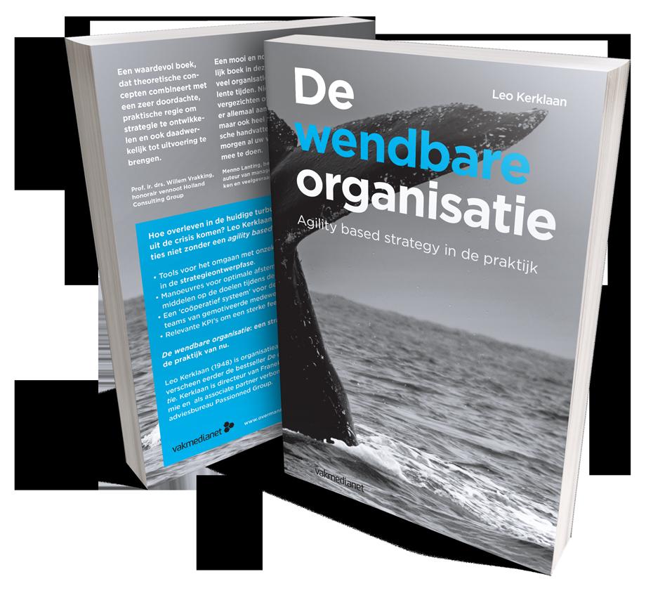 Het boek 'De wendbare organisatie