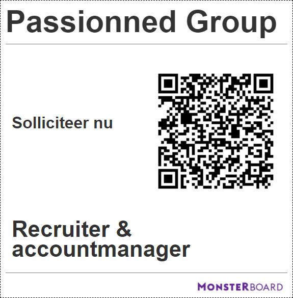 QR code recruiter - accountmanager