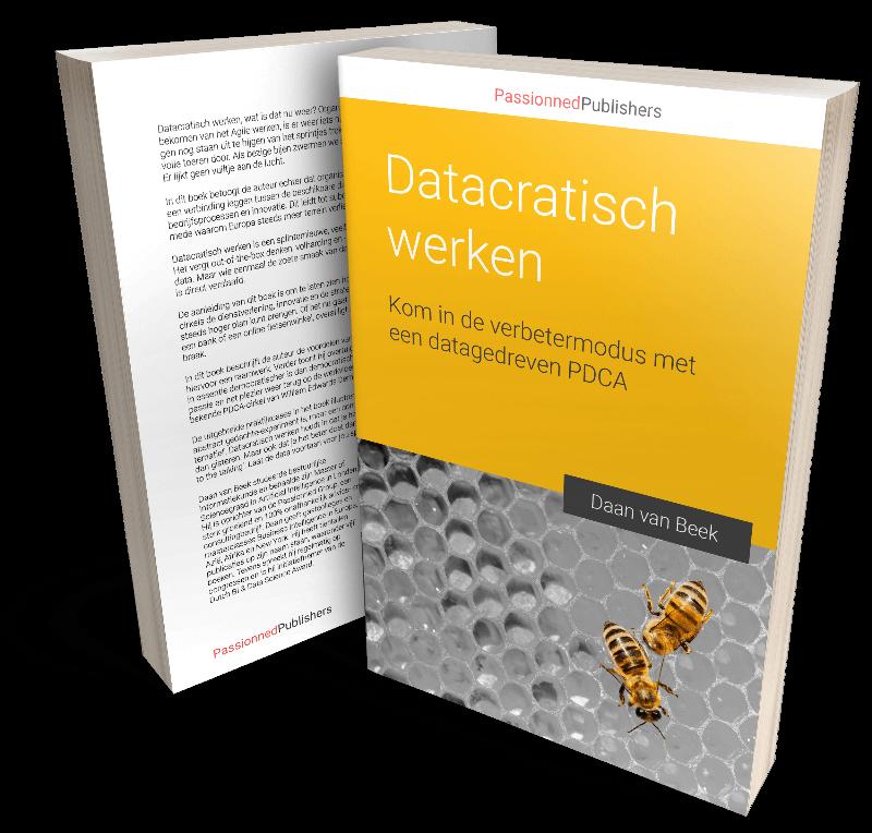 Cover boek 'Datacratische werken' - het PDCA boek