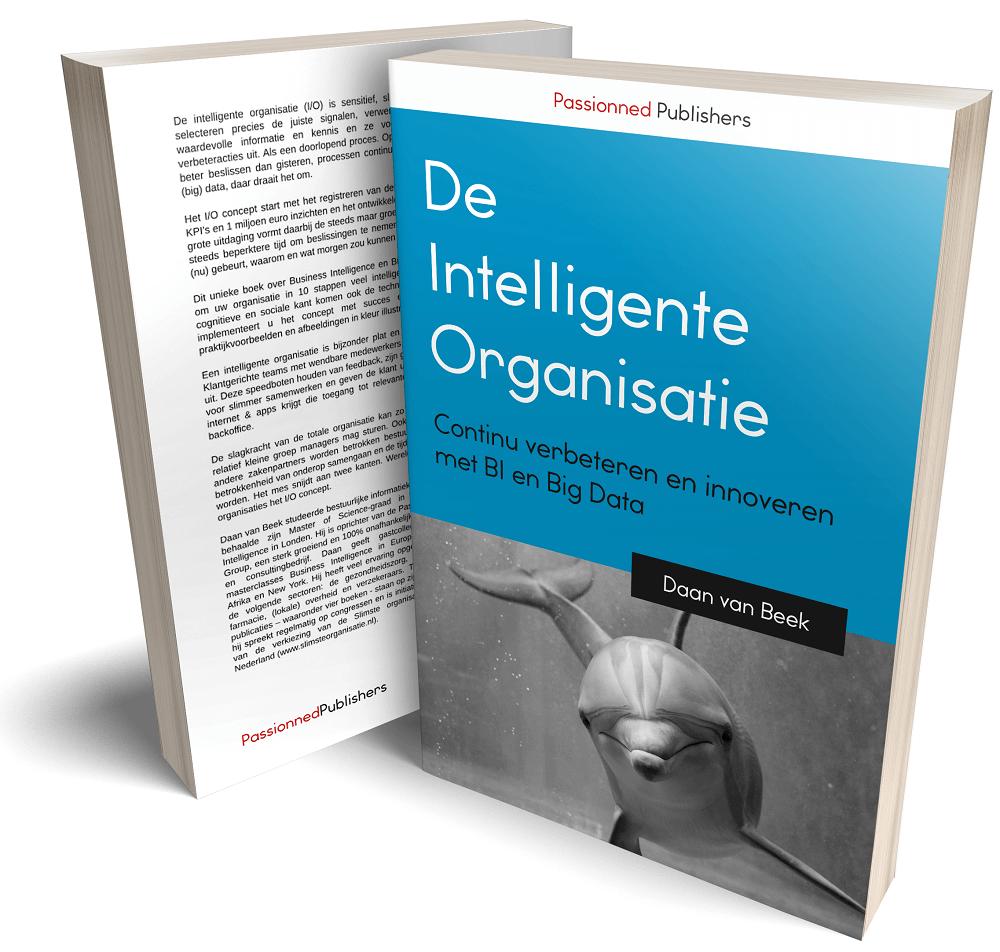 Cover Business Intelligence boek 'De intelligente organisatie'
