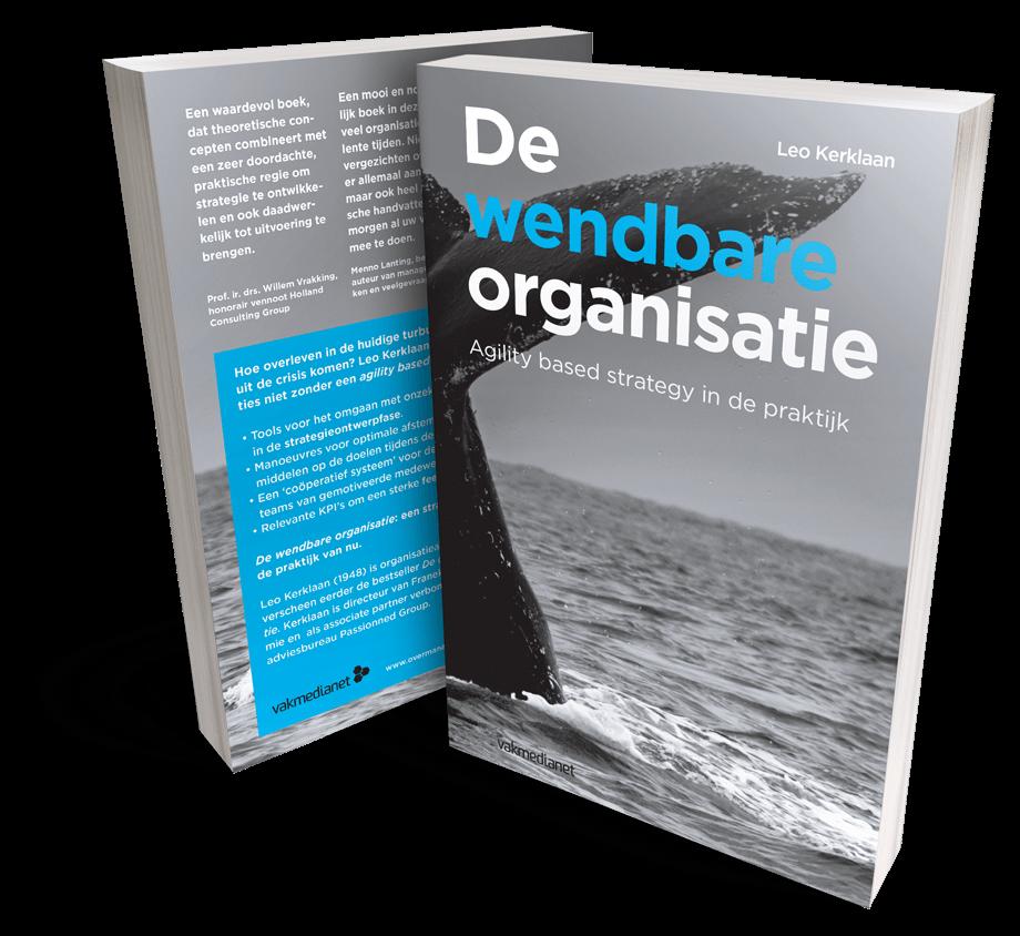 het boek 'De wendbare organisatie'